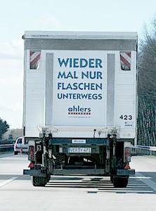 Bronze beim Deutschen Plakat Grand Prix. Einer von vielen, vielen LKWs.