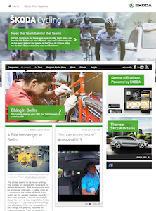 Skoda Cycling Site
